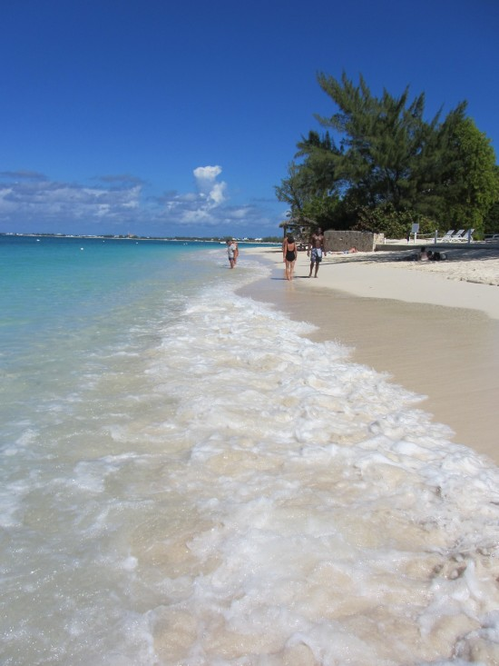 Seven Mile Beach in George Town, Grand Cayman