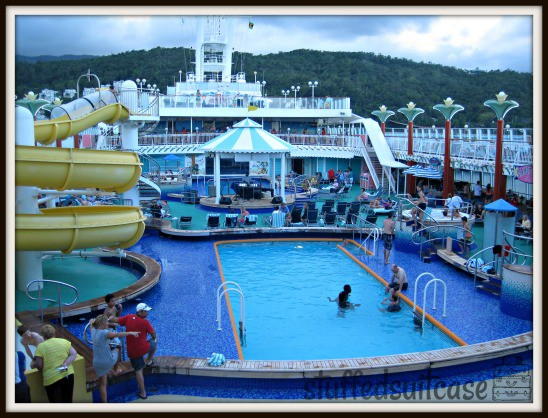NCL Pearl Pool and Slide