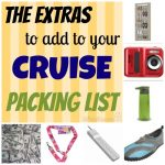 Cruise Packing List Extras - list of items that you should pack for your cruise StuffedSuitcase.com #family #travel