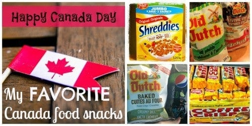 My Favorite (Favourite) Canada Food Snacks Canada Day StuffedSuitcase.com #Shreddies #ocanada