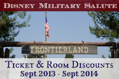 Disney Military Salute Discount Ticket Special StuffedSuitcase.com Discount Tickets & Room Rates