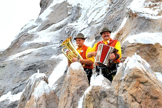 Alpine Musicians at the Matterhorn for Limited Time Magic at Disneyland