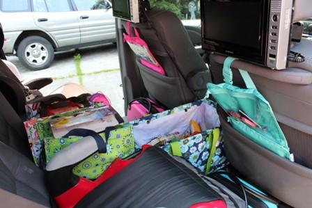 thirty-one Car Travel Bag organized car road trips StuffedSuitcase.com
