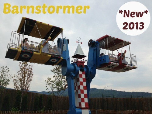 Barnstormer Silverwood Theme Park Coeur d'Alene ID StuffedSuitcase.com Family Vacation