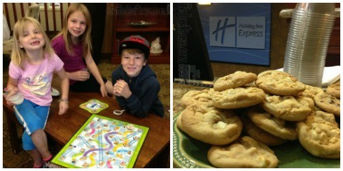 Holiday Inn Express Coeur d'Alene ID Hotel Cookies and Games StuffedSuitcase.com