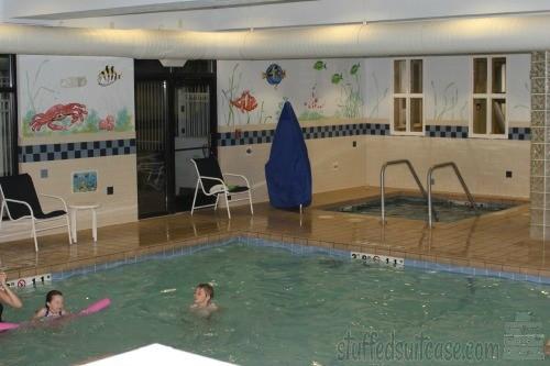 Holiday Inn Express Coeur d'Alene ID Hotel Pool StuffedSuitcase.com