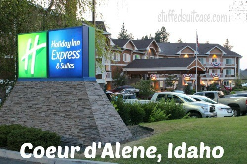 Holiday Inn Express Coeur d'Alene ID Hotel Review StuffedSuitcase.com family travel vacation