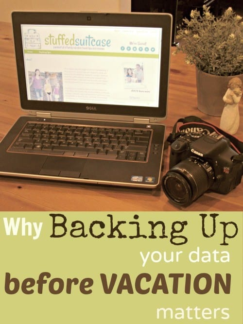 Why Backing Up your Data and Photos Matters and How to Back Up to the Cloud StuffedSuitcase.com #vacation #tip