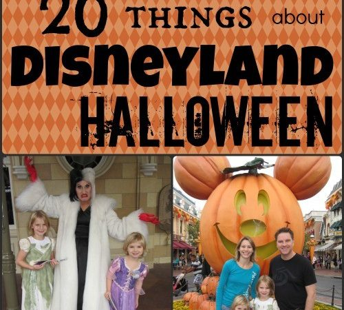 20 Things about Disneyland Halloween Time and Mickey's Halloween Party