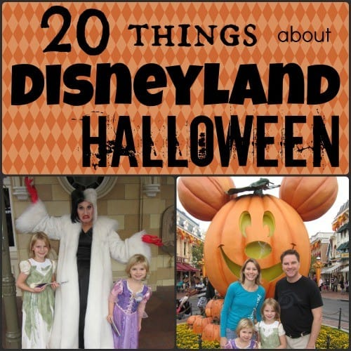 20 Things about Disneyland Halloween Time vacations with Mickey's Halloween Party tips StuffedSuitcase.com #family #disney #vacation