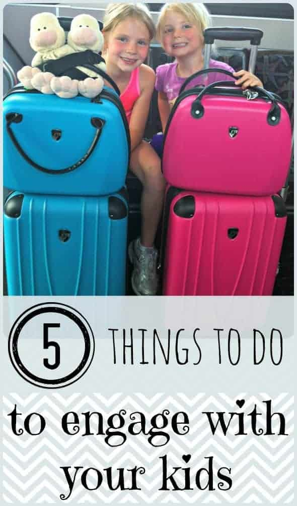 5 Things to do on Vacation to Engage with Your Kids during downtimes and connect as a family StuffedSuitcase.com family travel tip