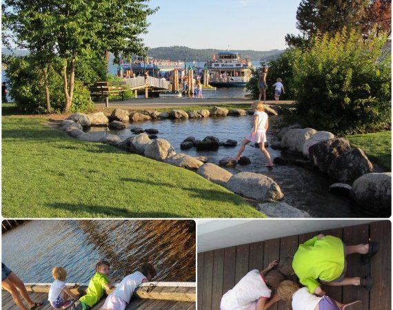 Lake Coeur d'Alene Idaho Beautiful Relaxing Family Vacation StuffedSuitcase.com Travel