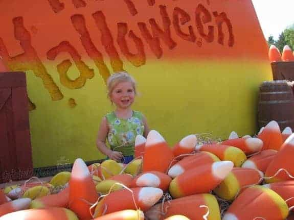 Happy Halloween Throwback Thursday Travel Disneyland Candy Corn Acres StuffedSuitcase.com