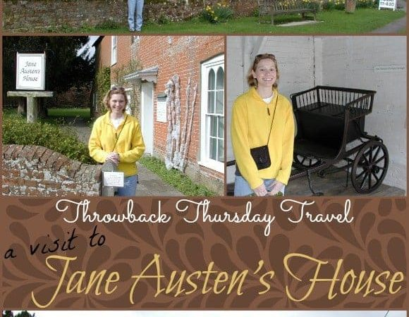 Throwback Thursday Travel Jane Austen House