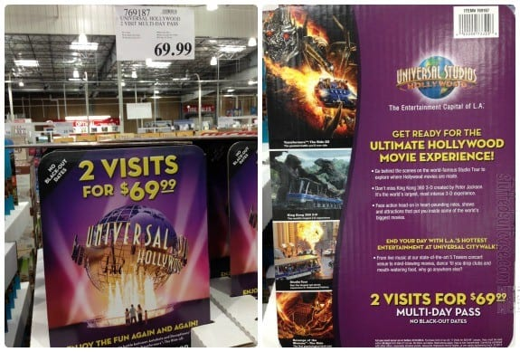 Universal Studios Discount Tickets at Costco for 2 days StuffedSuitcase.com