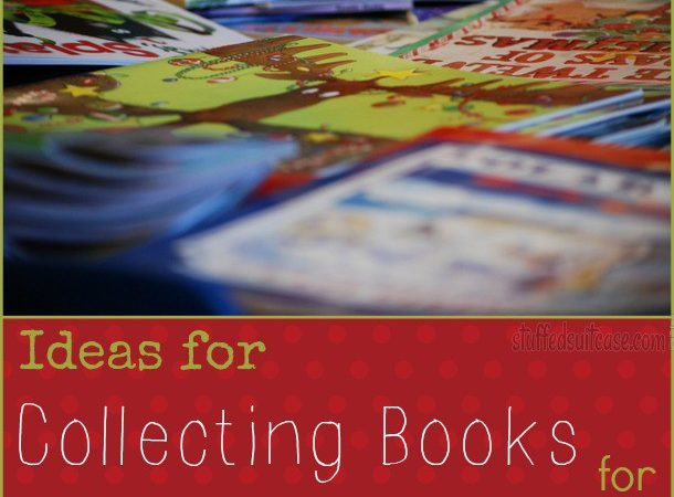 Ideas for Collecting Books to Start your 25 Days of Christmas Family Reading Tradition StuffedSuitcase.com