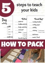 5 Steps Teach your Kids to Pack 150 x 206