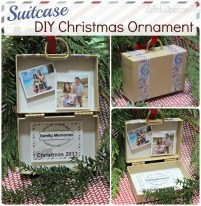 Suitcase DIY Christmas Ornament Memory 201 x 206