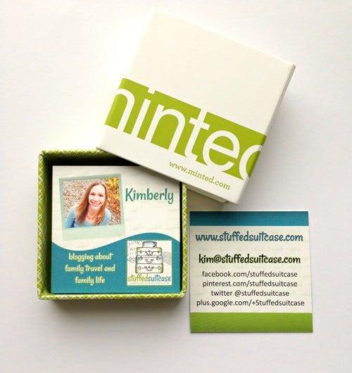 minted.com business cards square