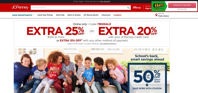 jcpenney coupon cashback with ebates