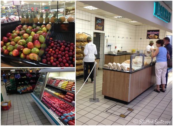 Grocery Shopping in Gaborone Botswana Africa