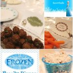Frozen Party Family Dinner & Movie Night + Printables