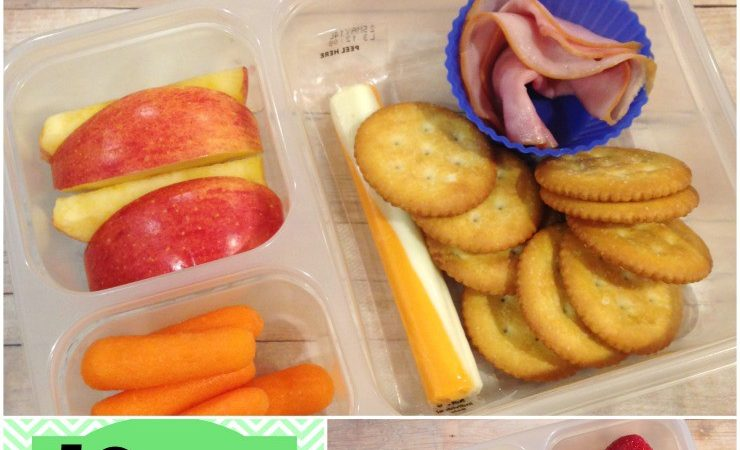 Kids School Lunches Week 28 of 40: St. Patrick's Day