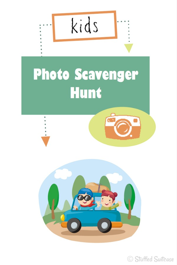 Photo Scavenger Hunt for Kids List - great for family road trips StuffedSuitcase.com roadtrip travel