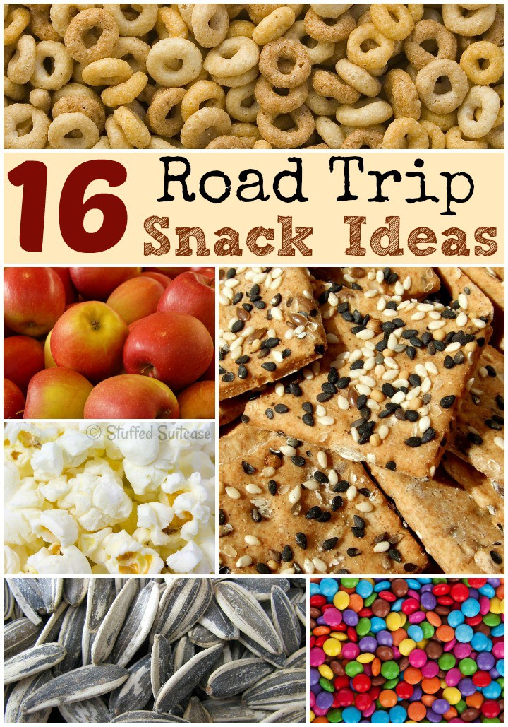 Road Trip Snacks For Family Travel Vacations