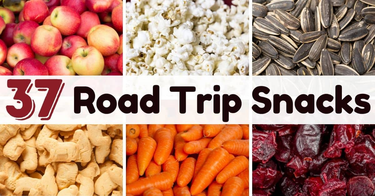 37 Road Trip Snacks You Ll Actually Like