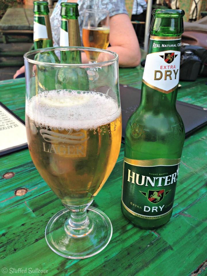 Hunters Dry Cider Beer from Botswana StuffedSuitcase.com