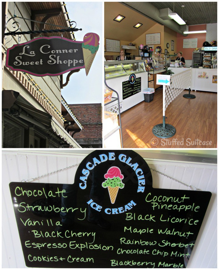 La Conner Sweet Shoppe Ice Cream