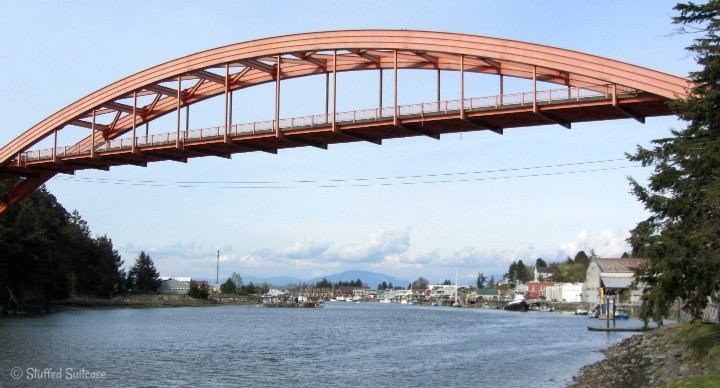 La Conner WA Bridge StuffedSuitcase..com
