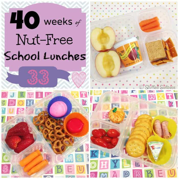 Nut-Free School Lunches for Kids Week 33 of 40 | StuffedSuitcase.com