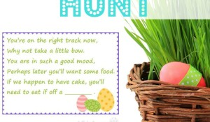 Easter Scavenger Hunt Clues - family fun for your kids to find their Easter Basket Gifts   StuffedSuitcase.com