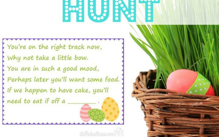 Family Fun Easter Scavenger Hunt Kids Easter Baskets