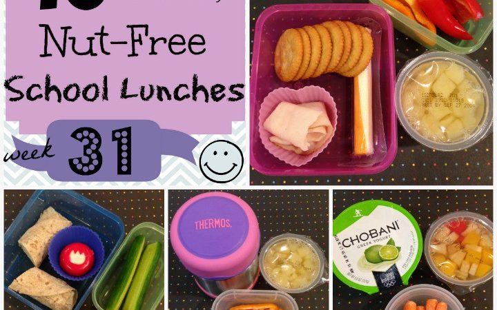 Kids Nut Free School Lunches: Week 31 of 40