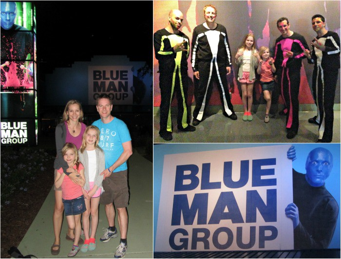 Blue Man Group show at Universal Orlando Resort | StuffedSuitcase.com