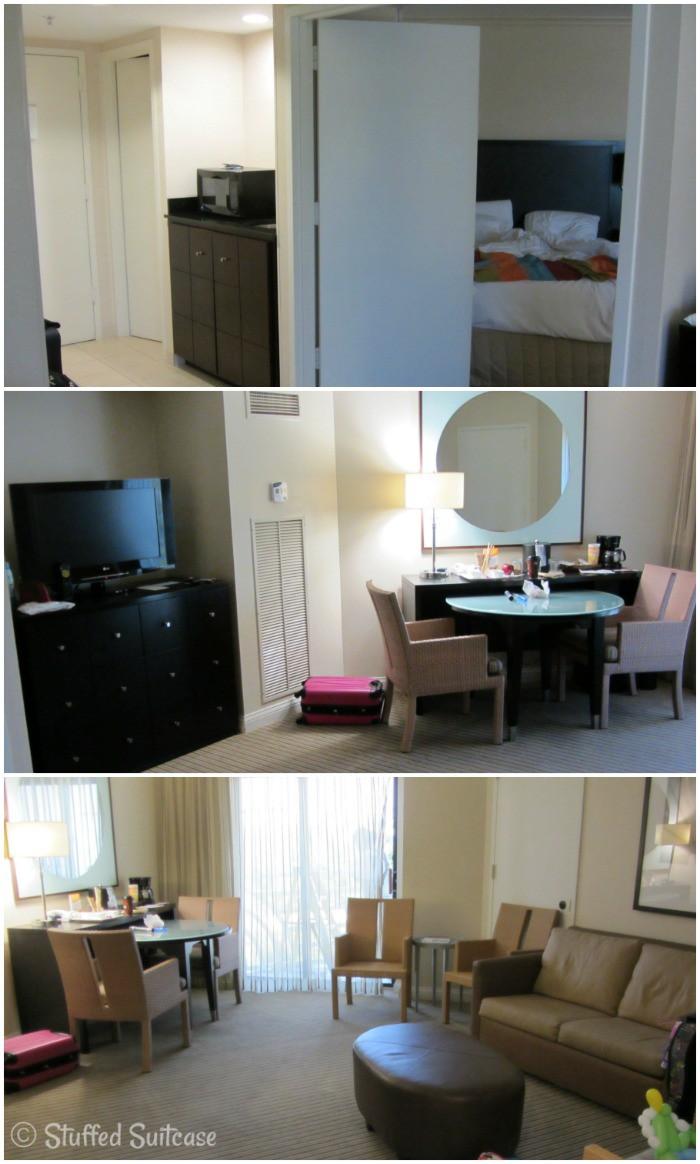 Buena Vista Palace Family Suite Living Space StuffedSuitcase.com