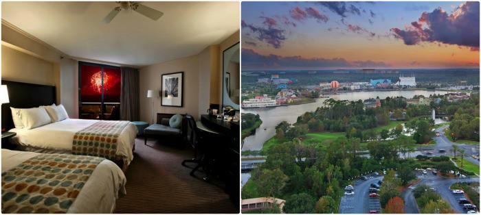 Tower Room Views at the Buena Vista Palace Hotel & Spa