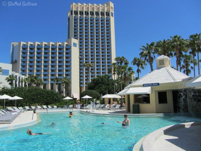 Buena Vista Palace Pool at Orlando Downtown Disney Hotel StuffedSuitcase.com