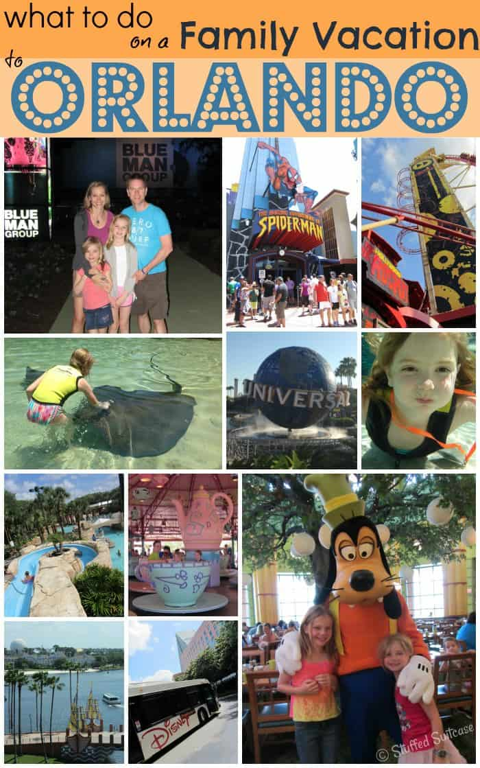 What to do on a Family Vacation to Orlando - Orlando attractions and activities StuffedSuitcase.com travel