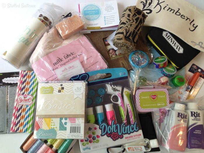 SNAP! Swag Bag Sponsor Gifts StuffedSuitcase.com