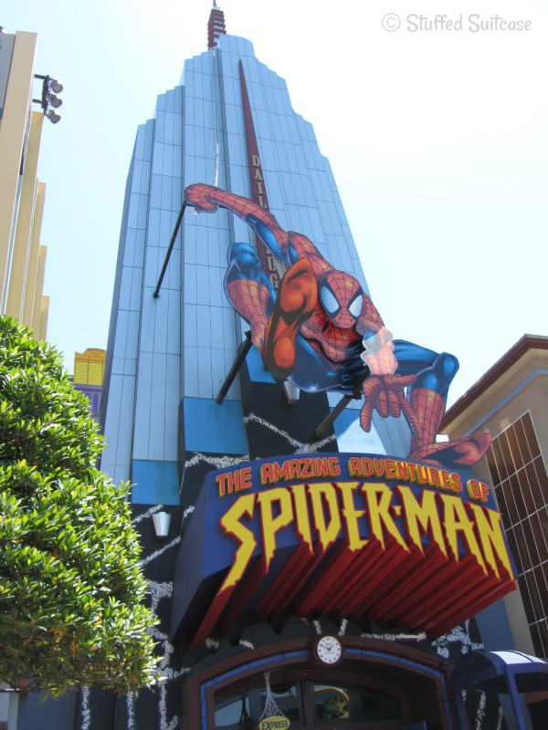 The Amazing Adventures of Spider-Man Attraction at Universal Islands of Adventure | StuffedSuitcase.com