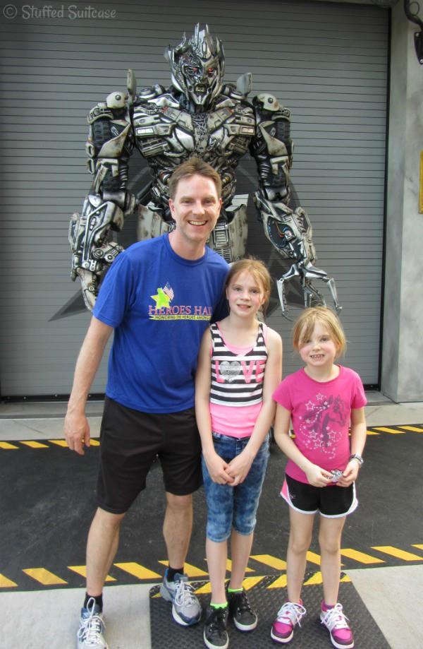 Universal Orlando Transformers Megatron StuffedSuitcase.com