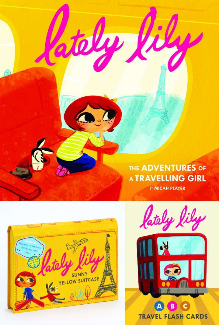 Lately Lily The Adventures of a Travelling Girl Book, Flash Cards, Activity Suitcase Series Giveaway StuffedSuitcase.com