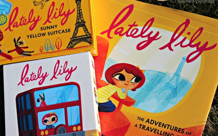 Lately Lily: The Adventures of a Travelling Girl Giveaway for book, suitcase activities, flash cards StuffedSuitcase.com