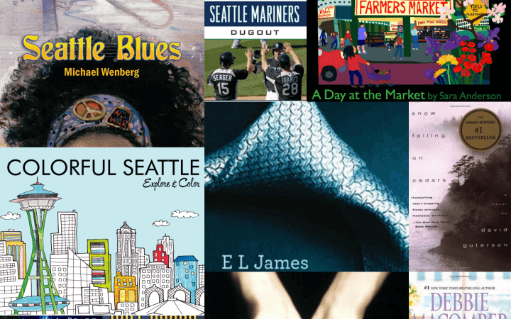 List of 15 Books to read to visit Seattle for kids, teens, and adults StuffedSuitcase.com #ReadGo2014