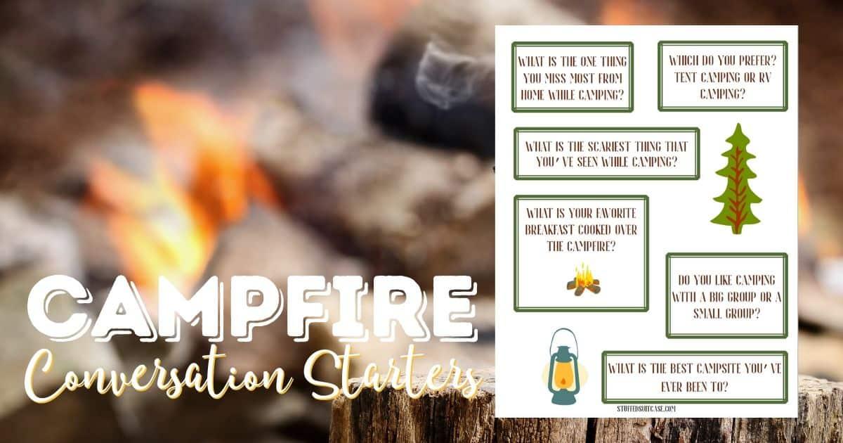 campfire conversation starter printable