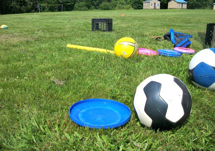 Backyard Games fun for kids this summer